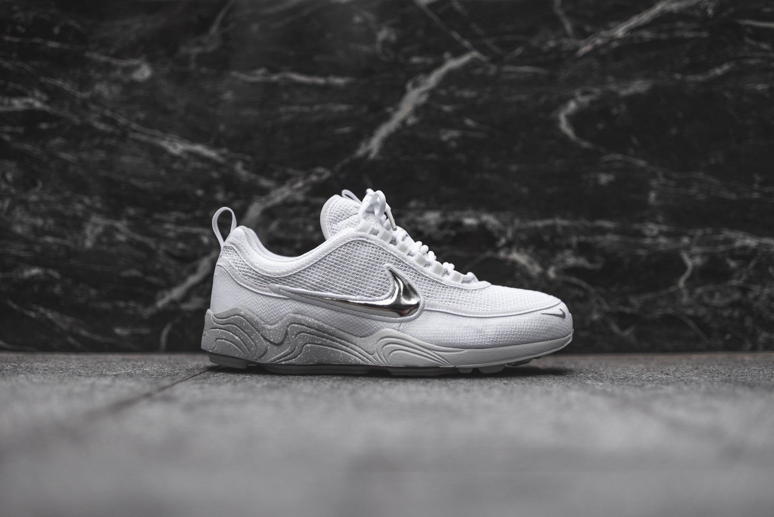 Nike Air Zoom Spiridon - White / Wolf Grey