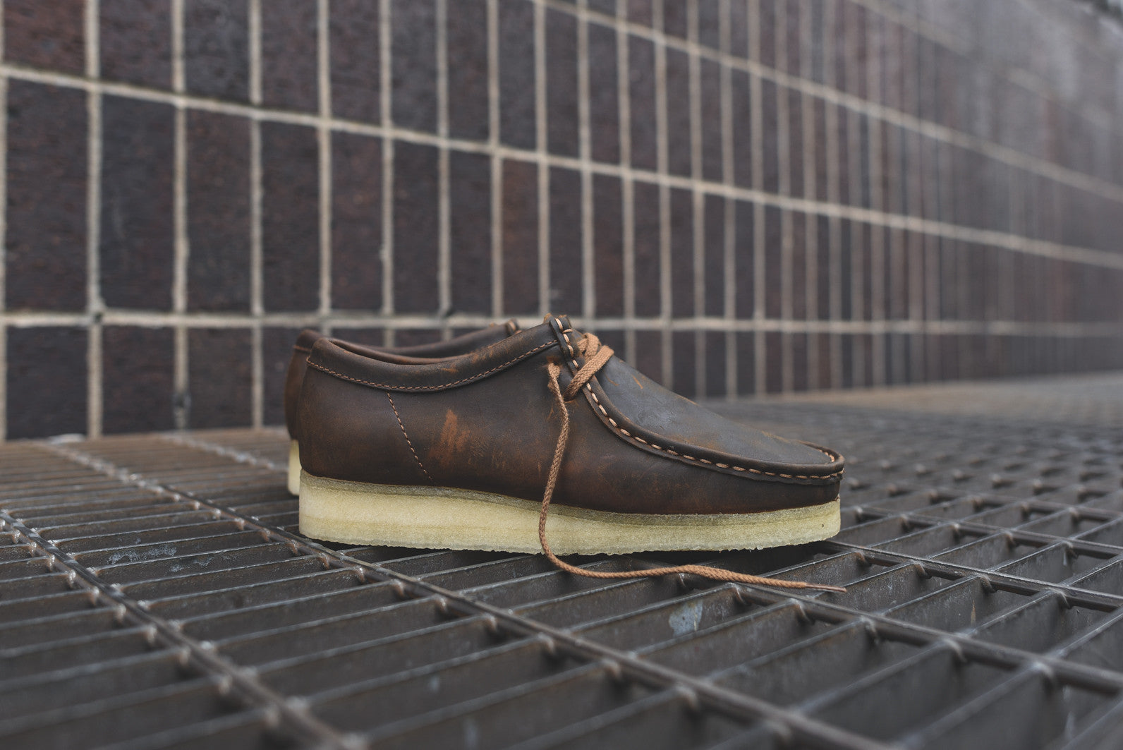 Clarks Wallabee Low - Beeswax