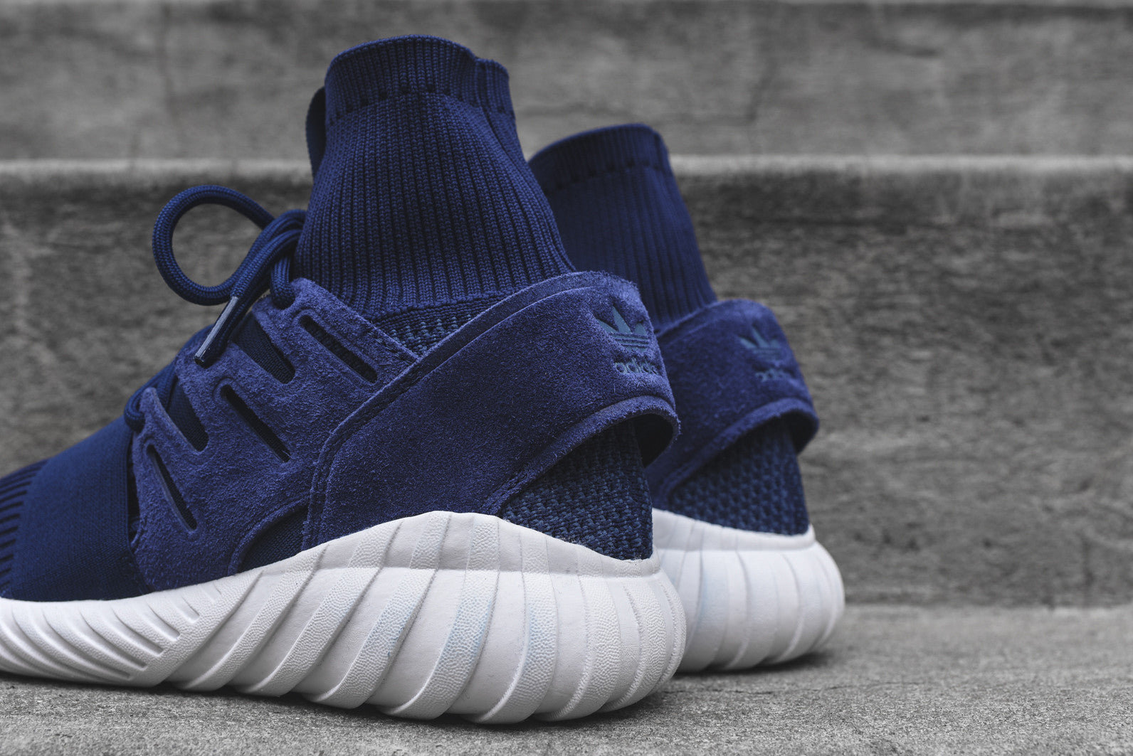 adidas Originals Tubular Doom PK - Night Marine / White