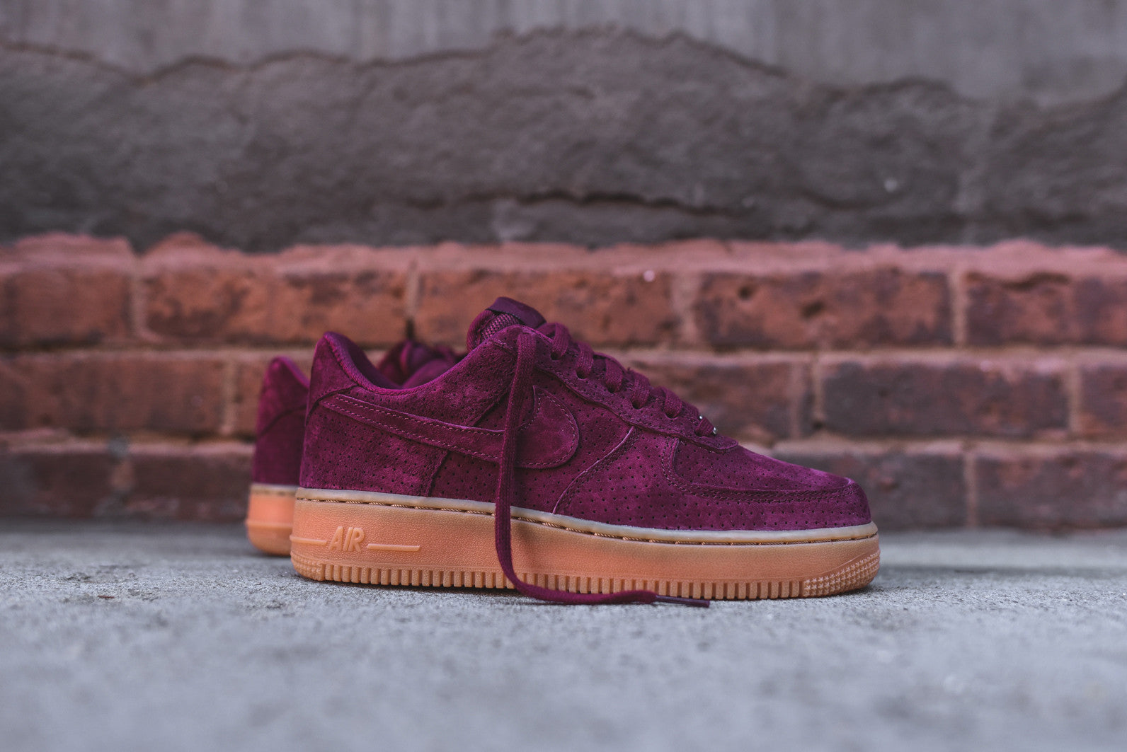 Nike One Rose Air Force Suede K1FluJc35T