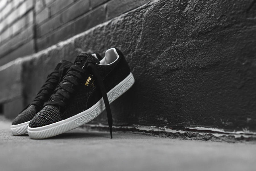 Puma x United Arrows & Sons Clyde - Black / Grey