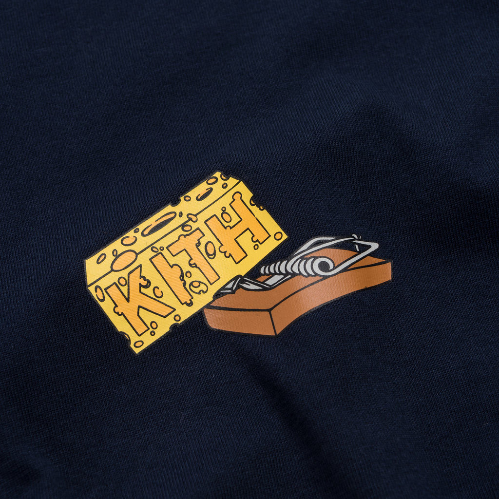 1d0206f3 Kith x Tom & Jerry L/S Cheese Tee - Navy
