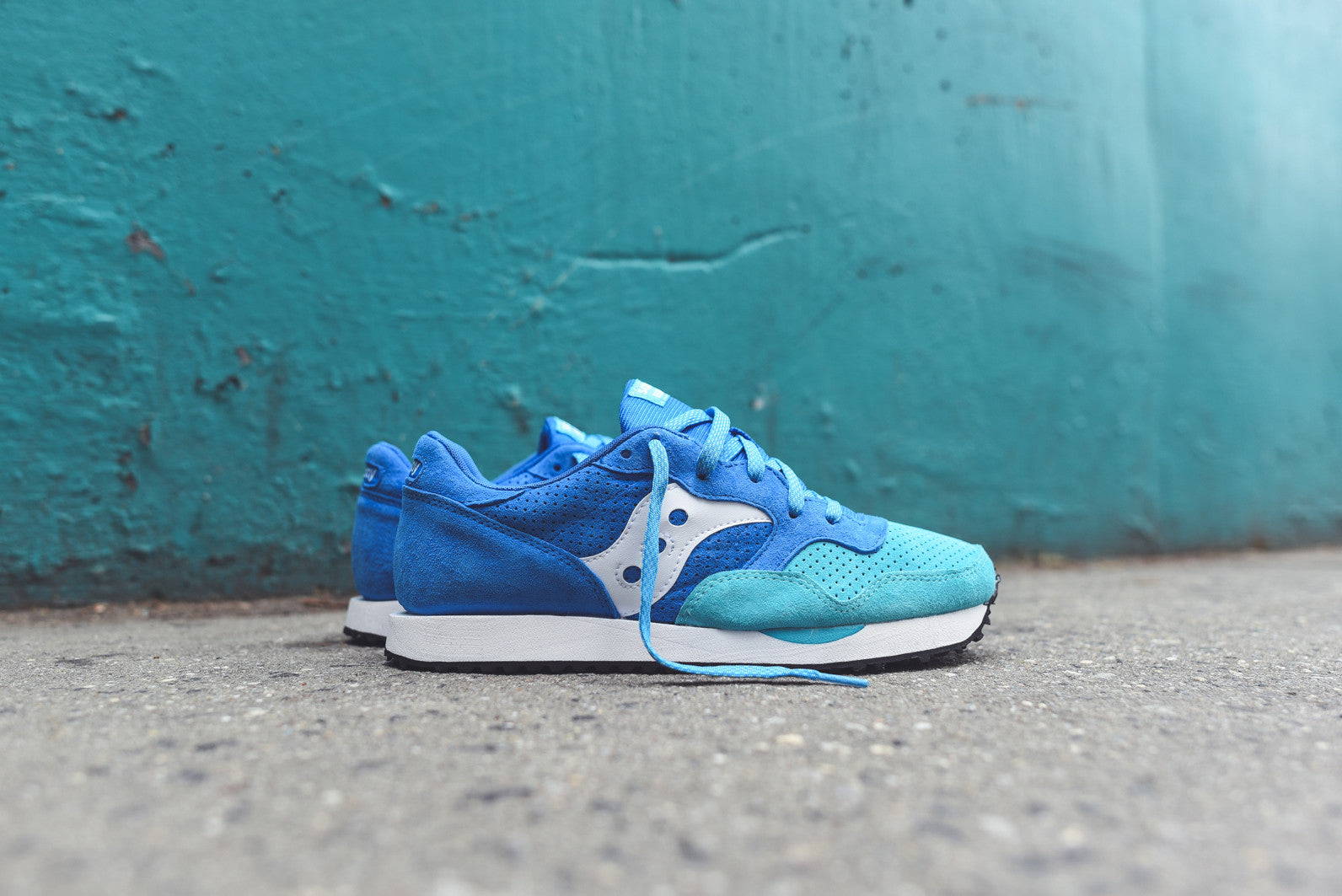 Saucony DXN Trainer PRM - Blue / Green
