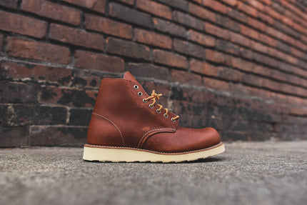 "Red Wing Round Toe 6"" - ""Oro Legacy"""