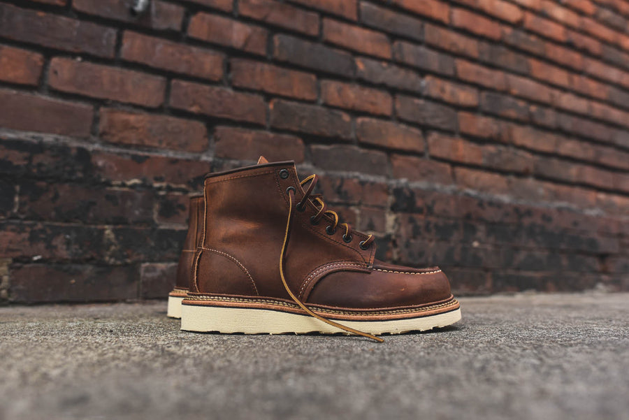 "Red Wing Classic Moc Toe 6"" R&T Boot - Copper"