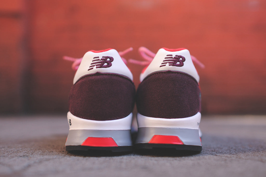 "New Balance Made in England M1500 ""Contradiction"" Pack - Burgundy / Red / White"