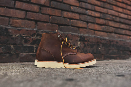 "Red Wing Round Toe 6"" R&T Boot - Copper"