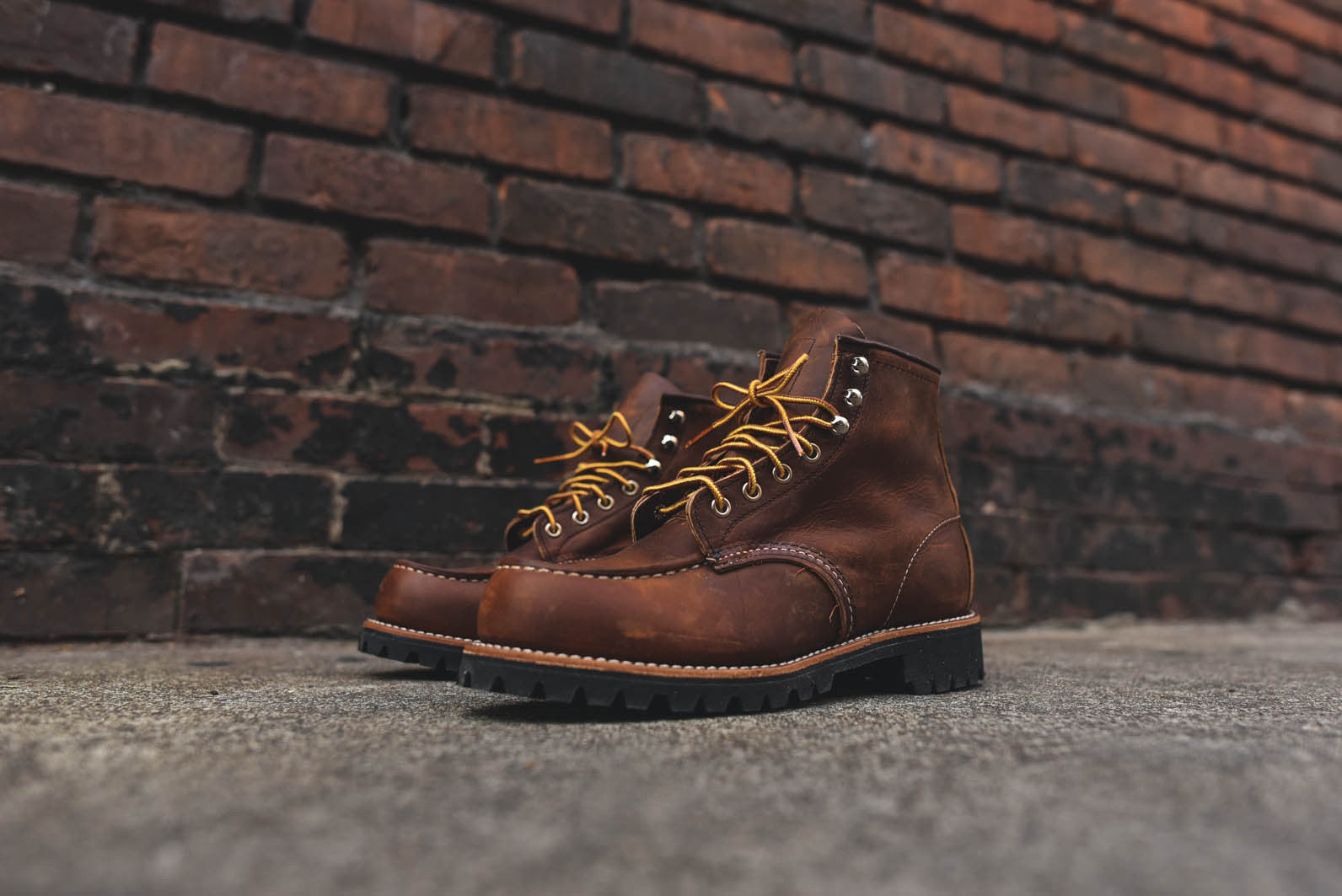 "Red Wing Roughneck 6"" R&T - Copper"