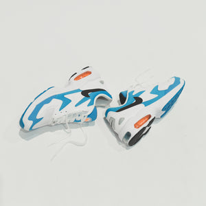 Nike Air Max 2  Light - White / Black / Blue Lagoon / Laser Orange