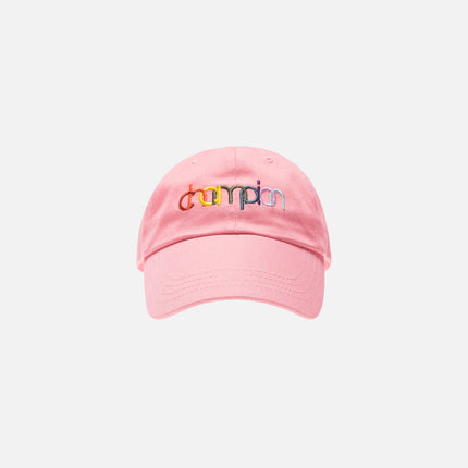 Kith x Champion Double Logo Hat - Pink