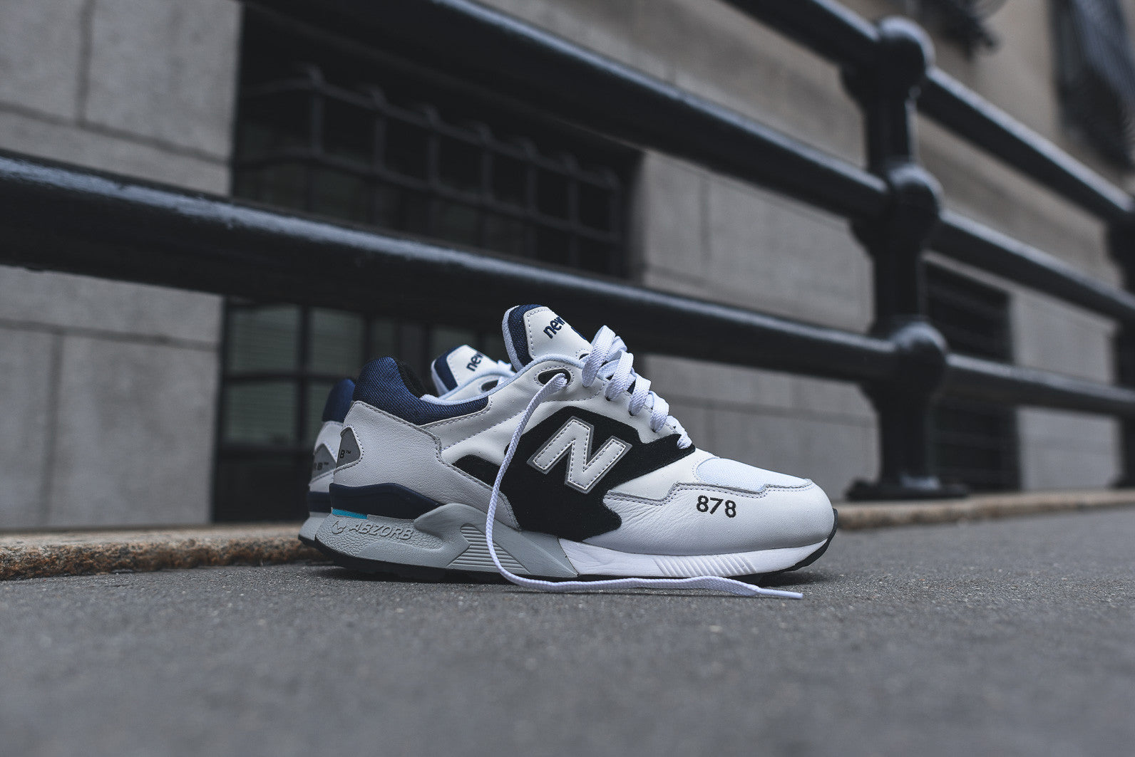 New Balance ML878 - White / Black