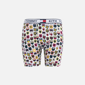 Kith x Tommy Hilfiger Crest Pattern Boxer - White