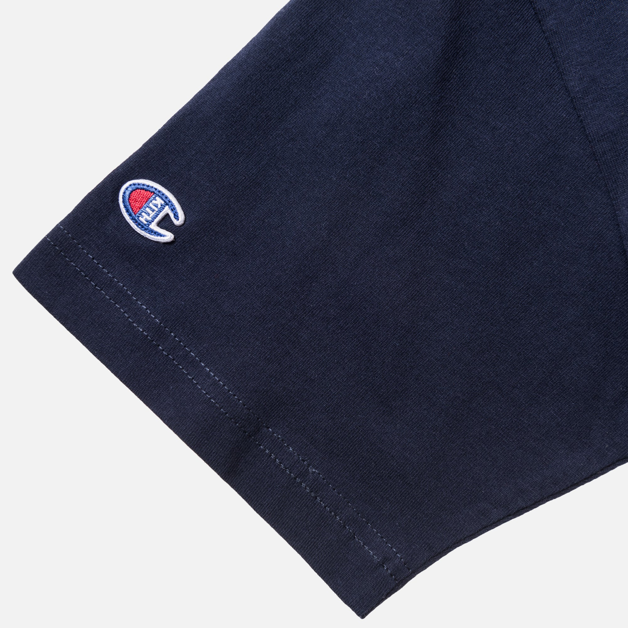 Kith x Champion C Patch Tee - Navy