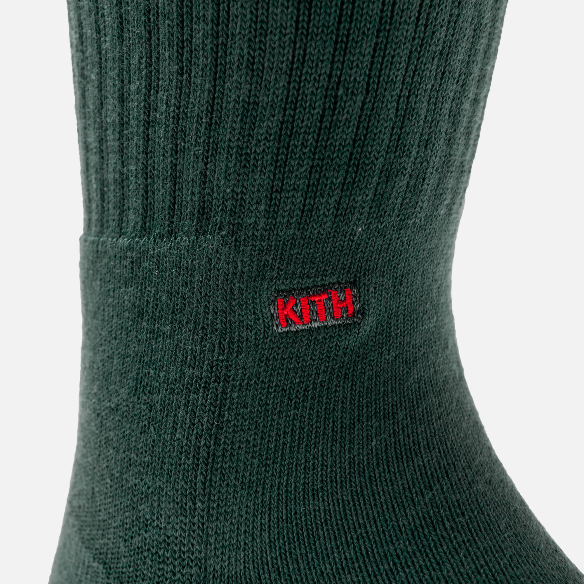 Kith x Coca-Cola x Stance Crew Sock - Green / Red