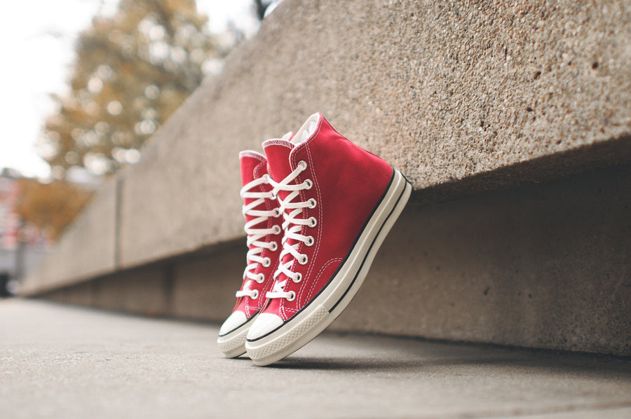 Converse Chuck Taylor All Star Hi 1970 - Crimson / White