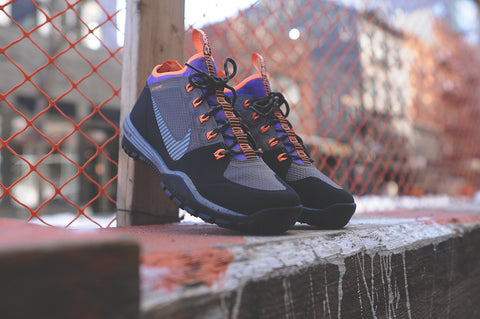 san francisco 681fe 0446e NIKE ACG Lunar Incognito QS Black  Purple  Orange