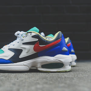 Nike Air Max 2 Light SP - Dark Obsidian / Sail / Racer Blue