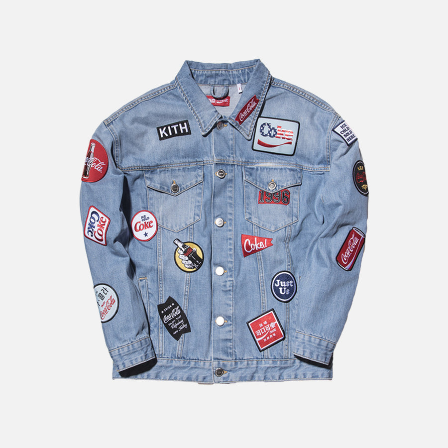 Kith x Coca-Cola Denim Jacket - Light Blue