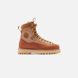 Kith for Diemme Everest Pony Hair Boot - Beige Image 1