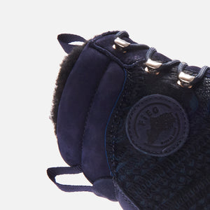 Kith for Diemme Everest Pony Hair Boot - Navy Image 10