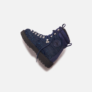 Kith for Diemme Everest Pony Hair Boot - Navy Image 6