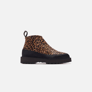 Kith for Diemme Paderno Zip Boot - Leopard / Black