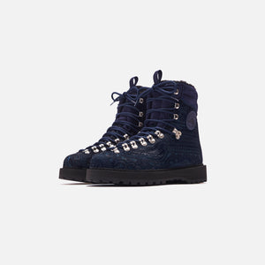 Kith for Diemme Everest Pony Hair Boot - Navy Image 3