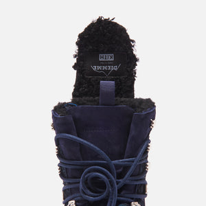 Kith for Diemme Everest Pony Hair Boot - Navy Image 13