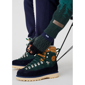 Kith for Diemme Everest Boot - Navy / Green