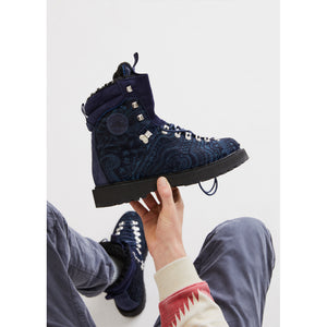 Kith for Diemme Everest Pony Hair Boot - Navy Image 2