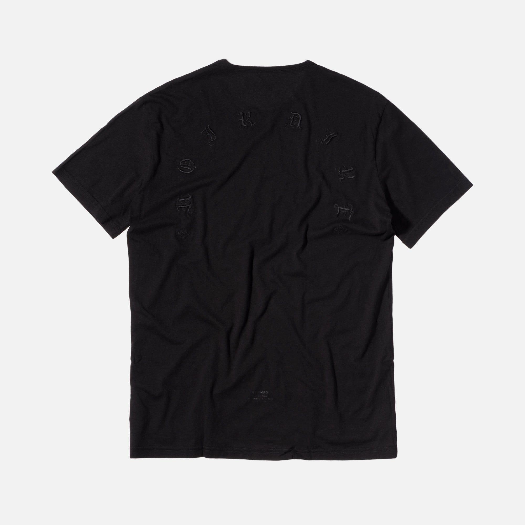 Stampd Distressed Voir Tee - Black