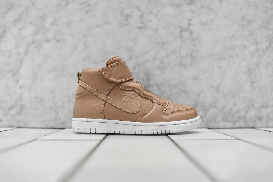 Nike WMNS Dunk High EZ - Vachetta Tan / White