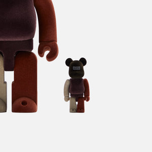 Kith x Bearbrick 100% & 400% - Brown / Multi Image 2
