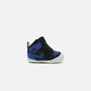 Nike Air Jordan 1 Crib Bootie - Black / Varsity Royal / White
