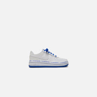 Nike x Uninterrupted Pre-School Air Force 1 `07 - White / Black / Racer Blue Thumbnail 1