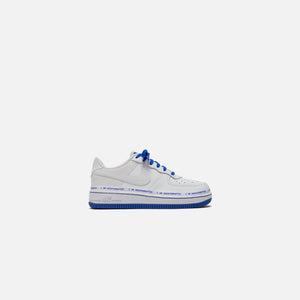 Nike x Uninterrupted Pre-School Air Force 1 `07 - White / Black / Racer Blue Image 1