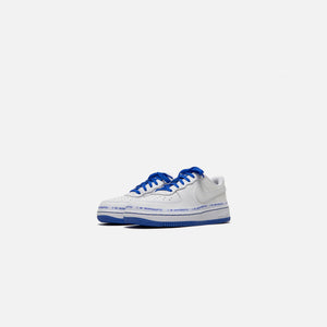 Nike x Uninterrupted Pre-School Air Force 1 `07 - White / Black / Racer Blue Image 2