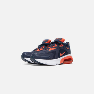 Nike Air Max 200 Grade School - Midnight Navy / Cosmic / Clay White Image 2