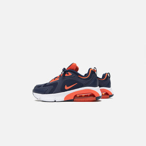 Nike Air Max 200 Grade School - Midnight Navy / Cosmic / Clay White Image 3
