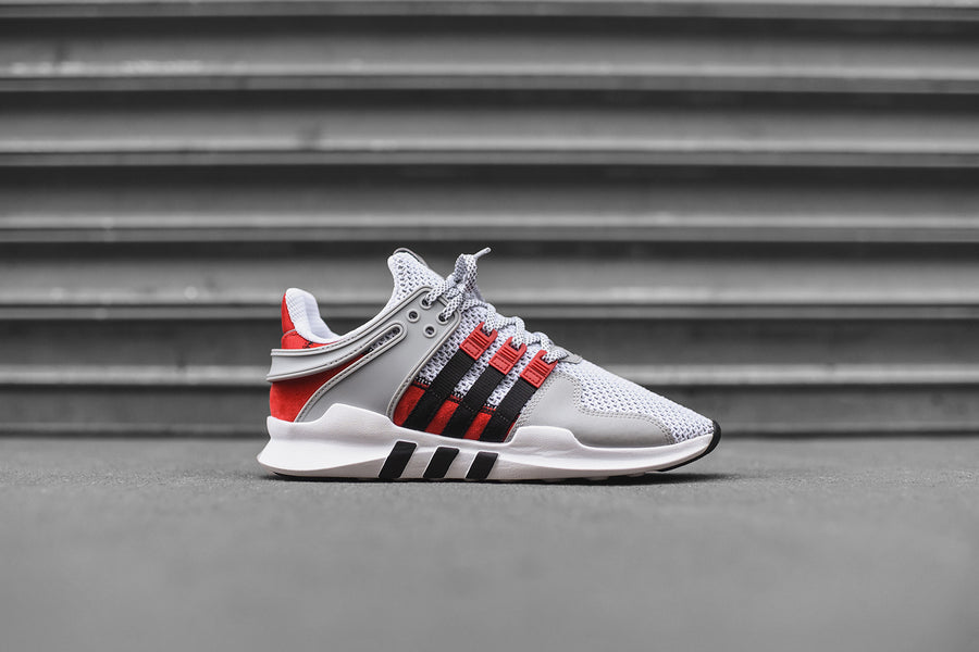 adidas Originals x Overkill EQT Support - Grey / White / Red / Black