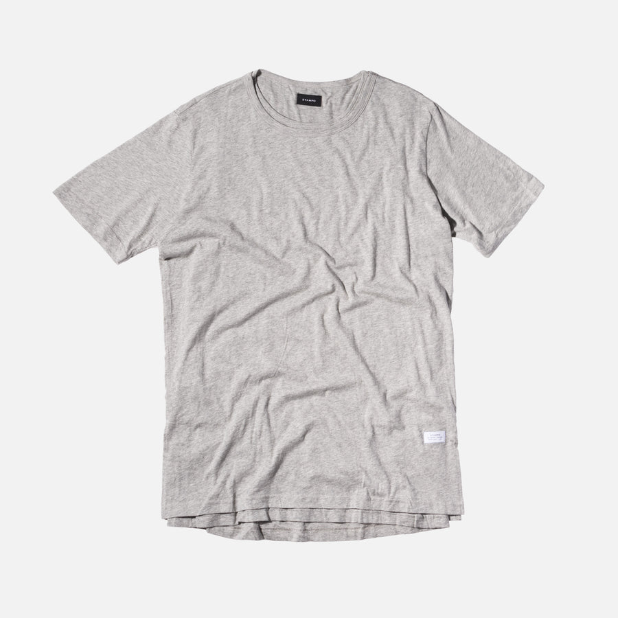 Stampd Echo Tee - Heather Grey