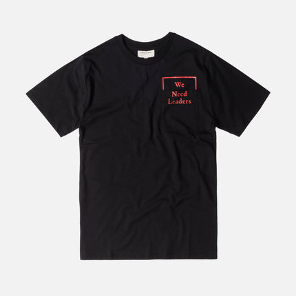 Public School Cooke Tee - Black / Red