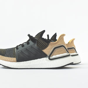 pretty nice 039f8 928b3 adidas UltraBoost 19 - Clear Brown  White  Shock Red