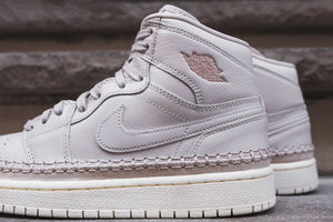 Nike WMNS Air Jordan 1 Retro High Premium - Desert Sand / Metallic Red Image 4