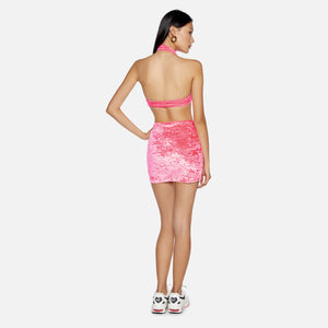 Kith Women x Frankies Wyatt Mini Skirt - Bubblegum Pink Image 3