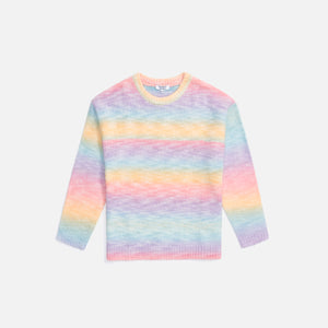 Frankies Bennie Knit Crewneck - Cotton Candy