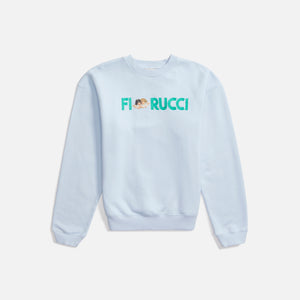 Fiorucci Logo Angels Sweatshirt - Pale Blue