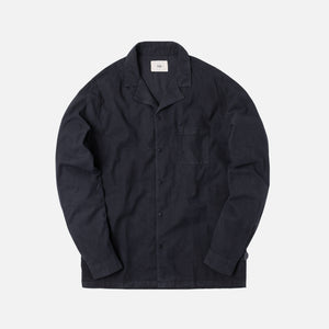 Folk Soft Collar Shirt - Navy