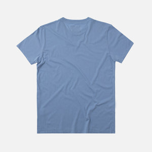 Folk Assembly Tee - Blue