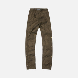 Fear Of God Nylon Cargo Pant - Olive Green